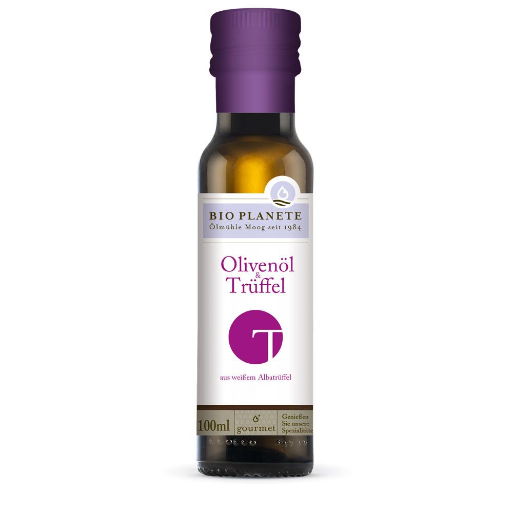 olivenöl-trüffel-Z prawdziwymi truflami-bez dodatku aromatówectra-0,1l-bio-planete