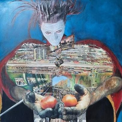 Kunstwettbewerb - Beitrag_Claudia Mölle_Fast food maniac