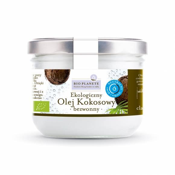 Olej Kokosowy Bezwonny BIO eko 400 ml BIO PLANÈTE