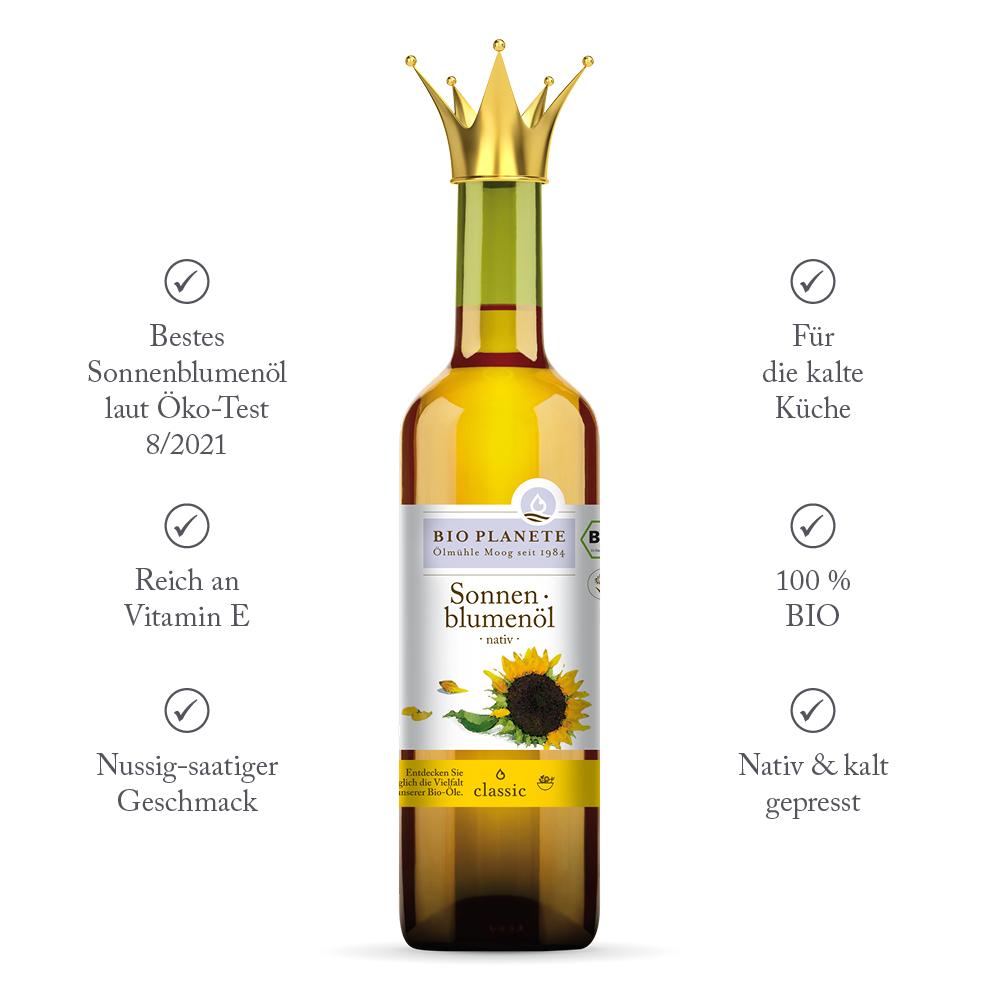 Sonnenblumenöl Testsieger