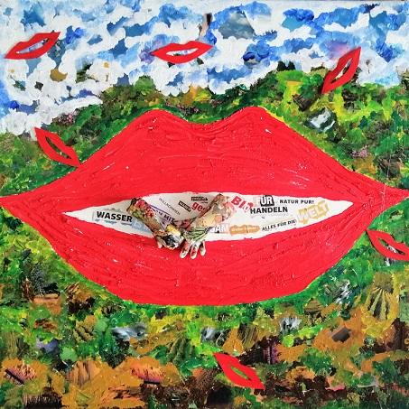 Kunstwettbewerb - Beitrag von Bärbel Kock