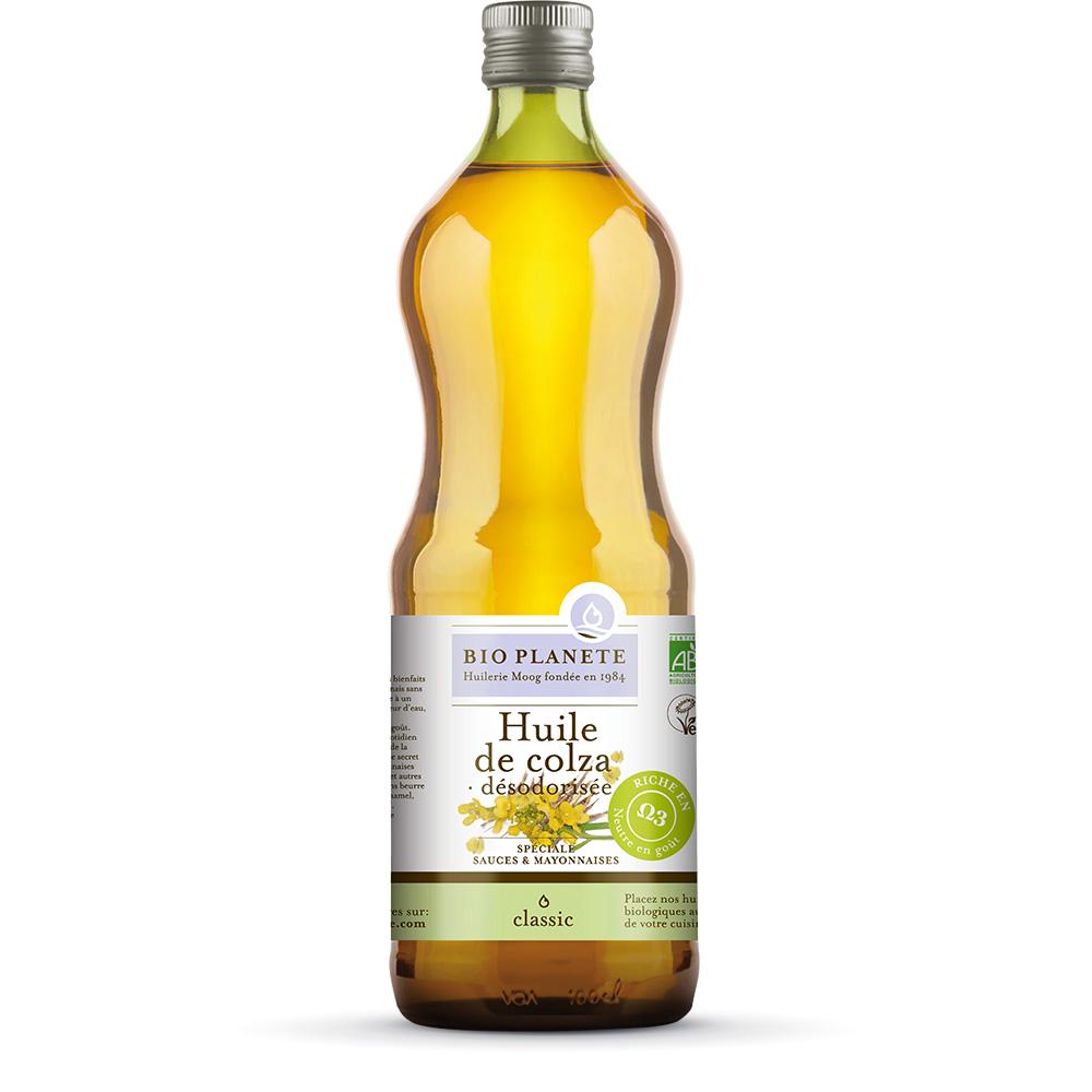 huile colza sauce