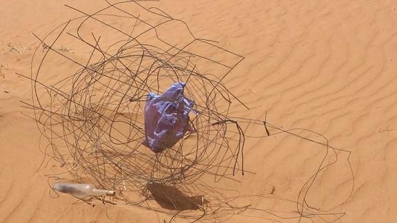 Kunstwettbewerb - Beitrag von Dorothee Schabert - Desert Waves