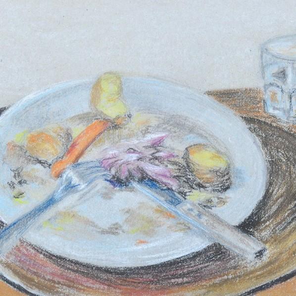 Kunstwettbewerb - Beitrag von Yvonne Delisle - War genug