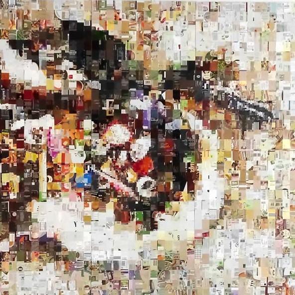 Kunstwettbewerb - Beitrag von Rudolf Beutinger und Gudrun Staiger - Mahlzeit