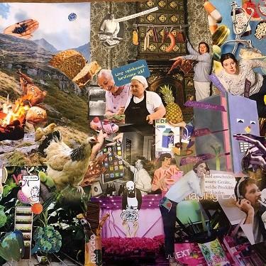Kunstwettbewerb - Beitrag von Nina Berger - Collage