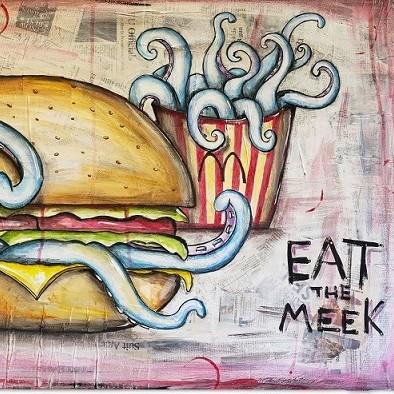 Kunstwettbewerb - Beitrag_Chris Sigalas_Fenetre Kuenstlername_Eat the Meek
