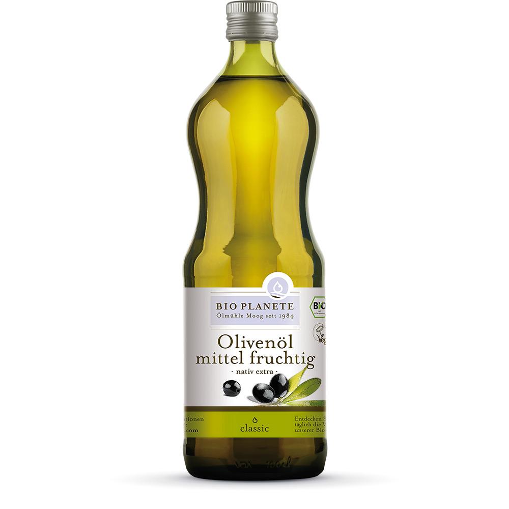 Oliwa z Oliwek O Umiarkowanie Owocowym Smaku BIO 1l BIO PLANÈTE